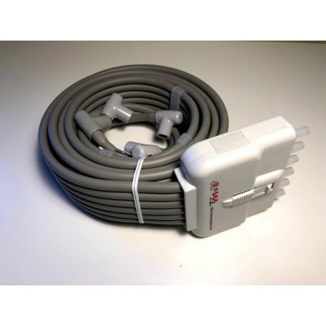 6 chamber Waistpad hoses